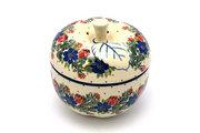 Ceramika Artystyczna Polish Pottery Apple Baker - Garden Party 034-1535a (Ceramika Artystyczna)