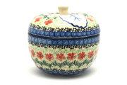 Ceramika Artystyczna Polish Pottery Apple Baker - Maraschino 034-1916a (Ceramika Artystyczna)