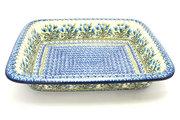 Ceramika Artystyczna Polish Pottery Baker - Lasagna - Blue Bells 854-1432a (Ceramika Artystyczna)