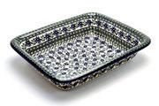 Ceramika Artystyczna Polish Pottery Baker - Lasagna - Blue Chicory 854-976a (Ceramika Artystyczna)