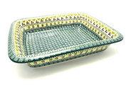 Ceramika Artystyczna Polish Pottery Baker - Lasagna - Mint Chip 854-2195q (Ceramika Artystyczna)