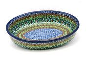 Ceramika Artystyczna Polish Pottery Baker - Oval - Medium - Unikat Signature U151 298-U0151 (Ceramika Artystyczna)