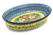 Ceramika Artystyczna Polish Pottery Baker - Oval - Medium - Unikat Signature U4779 298-U4779 (Ceramika Artystyczna)