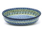 Ceramika Artystyczna Polish Pottery Baker - Oval - Small - Tranquility 299-1858a (Ceramika Artystyczna)