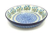 Ceramika Artystyczna Polish Pottery Baker - Pie Dish - Blue Bells 230-1432a (Ceramika Artystyczna)