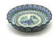 Ceramika Artystyczna Polish Pottery Baker - Pie Dish - Fluted - Unikat Signature U4629 636-U4629 (Ceramika Artystyczna)