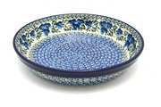 Ceramika Artystyczna Polish Pottery Baker - Pie Dish - Winter Viola 230-2273a (Ceramika Artystyczna)