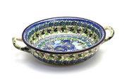 Ceramika Artystyczna Polish Pottery Baker - Round with Handles - Medium - Unikat Signature - U4520 419-U4520 (Ceramika Artystyczna)