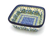 Ceramika Artystyczna Polish Pottery Baker - Square - Blue Bells 430-1432a (Ceramika Artystyczna)