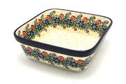 Ceramika Artystyczna Polish Pottery Baker - Square - Garden Party 430-1535a (Ceramika Artystyczna)
