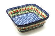 Ceramika Artystyczna Polish Pottery Baker - Square - Maraschino 430-1916a (Ceramika Artystyczna)