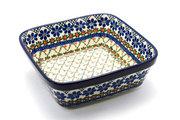 Ceramika Artystyczna Polish Pottery Baker - Square - Primrose 430-854a (Ceramika Artystyczna)