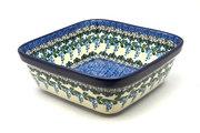 Ceramika Artystyczna Polish Pottery Baker - Square - Wisteria 430-1473a (Ceramika Artystyczna)