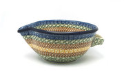 Ceramika Artystyczna Polish Pottery Batter Bowl - 1 quart - Autumn 240-050a (Ceramika Artystyczna)