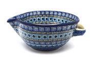 Ceramika Artystyczna Polish Pottery Batter Bowl - 1 quart - Aztec Sky 240-1917a (Ceramika Artystyczna)