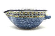 Ceramika Artystyczna Polish Pottery Batter Bowl - 1 quart - Daisy Maize 240-2178a (Ceramika Artystyczna)