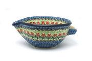 Ceramika Artystyczna Polish Pottery Batter Bowl - 1 quart - Maraschino 240-1916a (Ceramika Artystyczna)