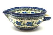 Ceramika Artystyczna Polish Pottery Batter Bowl - 1 quart - Morning Glory 240-1915a (Ceramika Artystyczna)