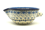 Ceramika Artystyczna Polish Pottery Batter Bowl - 1 quart - Silver Lace 240-2158a (Ceramika Artystyczna)
