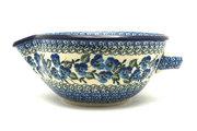 Ceramika Artystyczna Polish Pottery Batter Bowl - 1 quart - Winter Viola 240-2273a (Ceramika Artystyczna)