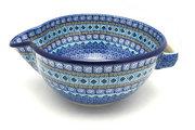 Ceramika Artystyczna Polish Pottery Batter Bowl - 2 quart - Aztec Sky 714-1917a (Ceramika Artystyczna)