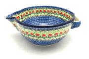 Ceramika Artystyczna Polish Pottery Batter Bowl - 2 quart - Maraschino 714-1916a (Ceramika Artystyczna)
