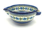 Ceramika Artystyczna Polish Pottery Batter Bowl - 2 quart - Morning Glory 714-1915a (Ceramika Artystyczna)