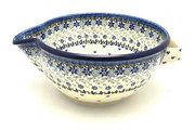Ceramika Artystyczna Polish Pottery Batter Bowl - 2 quart - Silver Lace 714-2158a (Ceramika Artystyczna)