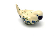 Ceramika Artystyczna Polish Pottery Bird Figurine - A - Blue Spring Daisy 715-614a (Ceramika Artystyczna)