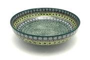 "Ceramika Artystyczna Polish Pottery Bowl - Contemporary - Large (11"") - Aztec Forest C36-1919q (Ceramika Artystyczna)"