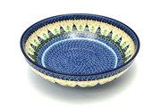 """Ceramika Artystyczna Polish Pottery Bowl - Contemporary - Large (11"""") - Christmas Trees C36-1284a (Ceramika Artystyczna)"""