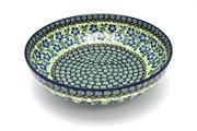 "Ceramika Artystyczna Polish Pottery Bowl - Contemporary - Large (11"") - Sweet Violet C36-1538a (Ceramika Artystyczna)"