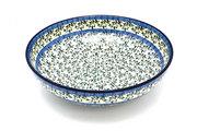 """Ceramika Artystyczna Polish Pottery Bowl - Contemporary - Large (11"""") - Terrace Vines C36-1822a (Ceramika Artystyczna)"""