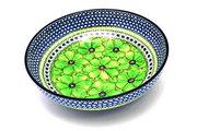 "Ceramika Artystyczna Polish Pottery Bowl - Contemporary - Large (11"") - Unikat Signature U408A C36-U408A (Ceramika Artystyczna)"