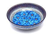 """Ceramika Artystyczna Polish Pottery Bowl - Contemporary - Large (11"""") - Unikat Signature U408C C36-U408C (Ceramika Artystyczna)"""