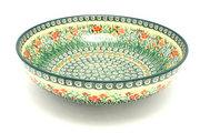 """Ceramika Artystyczna Polish Pottery Bowl - Contemporary - Large (11"""") - Unikat Signature U4336 C36-U4336 (Ceramika Artystyczna)"""