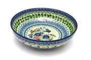 """Ceramika Artystyczna Polish Pottery Bowl - Contemporary - Large (11"""") - Unikat Signature U4600 C36-U4600 (Ceramika Artystyczna)"""