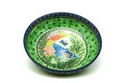 """Ceramika Artystyczna Polish Pottery Bowl - Contemporary - Large (11"""") - Unikat Signature U4612 C36-U4612 (Ceramika Artystyczna)"""