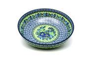 """Ceramika Artystyczna Polish Pottery Bowl - Contemporary - Large (11"""") - Unikat Signature U4629 C36-U4629 (Ceramika Artystyczna)"""
