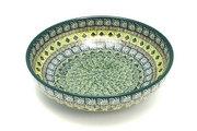 "Ceramika Artystyczna Polish Pottery Bowl - Contemporary - Medium (9"") - Aztec Forest B91-1919q (Ceramika Artystyczna)"