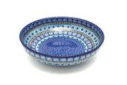 """Ceramika Artystyczna Polish Pottery Bowl - Contemporary - Medium (9"""") - Aztec Sky B91-1917a (Ceramika Artystyczna)"""