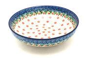 "Ceramika Artystyczna Polish Pottery Bowl - Contemporary - Medium (9"") - Cherry Jubilee B91-2284a (Ceramika Artystyczna)"