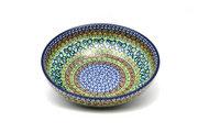 "Ceramika Artystyczna Polish Pottery Bowl - Contemporary - Medium (9"") - Unikat Signature U151 B91-U0151 (Ceramika Artystyczna)"