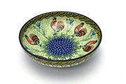 "Ceramika Artystyczna Polish Pottery Bowl - Contemporary - Medium (9"") - Unikat Signature U2663 B91-U2663 (Ceramika Artystyczna)"