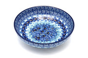"Ceramika Artystyczna Polish Pottery Bowl - Contemporary - Medium (9"") - Unikat Signature U3639 B91-U3639 (Ceramika Artystyczna)"