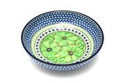 "Ceramika Artystyczna Polish Pottery Bowl - Contemporary - Medium (9"") - Unikat Signature U408A B91-U408A (Ceramika Artystyczna)"