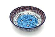 "Ceramika Artystyczna Polish Pottery Bowl - Contemporary - Medium (9"") - Unikat Signature U408C B91-U408C (Ceramika Artystyczna)"