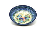 "Ceramika Artystyczna Polish Pottery Bowl - Contemporary - Medium (9"") - Unikat Signature U4695 B91-U4695 (Ceramika Artystyczna)"