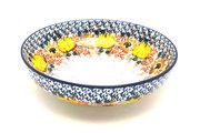 "Ceramika Artystyczna Polish Pottery Bowl - Contemporary - Medium (9"") - Unikat Signature U4741 B91-U4741 (Ceramika Artystyczna)"