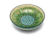 "Ceramika Artystyczna Polish Pottery Bowl - Contemporary - Medium (9"") - Unikat Signature U803 B91-U0803 (Ceramika Artystyczna)"